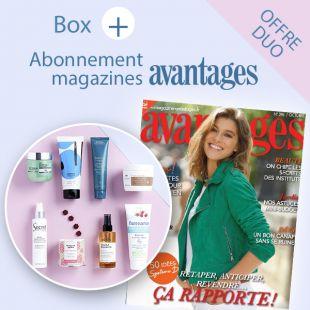 box beauté sublimes cheveux magazine Avantages