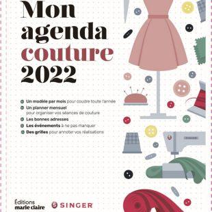livre agenda couture 2022