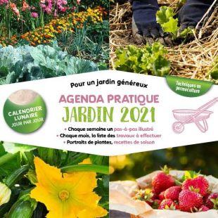 Agenda pratique du jardin 2021 editions marie claire