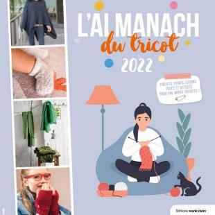almanach tricot 2022 editions marie claire