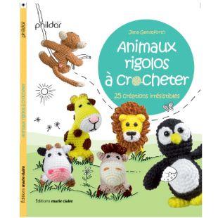 Livret crochet animaux rigolos Éditions Marie Claire