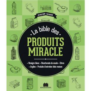 Livre bible produits miracle