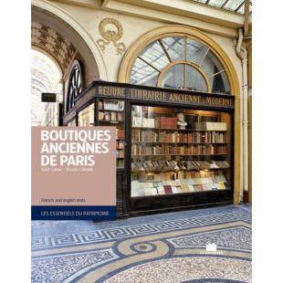 livre boutiques anciennes de paris
