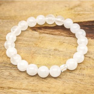 Bracelet Arséo - Jade Blanc