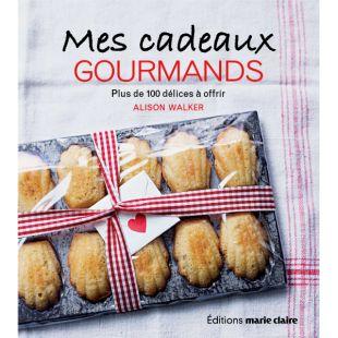 livre cadeaux gourmands cuisine editions marie claire