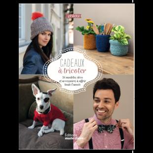 livre tricot cadeaux à tricoter editions marie claire