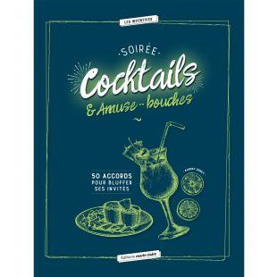 livre soirée cocktails et amuse-bouches