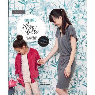 livre couture mère et fille éditions marie claire