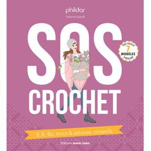 livre sos crochet editions marie claire