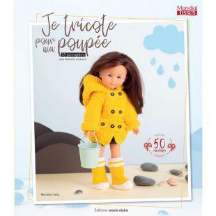 livre je tricote pour ma poupée editions marie claire