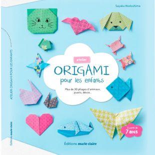 livre DIY atelier origami pour les enfants Editions Marie Claire