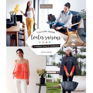couture femme toutes saisons livre de couture editions marie claire