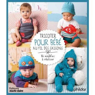 livre tricoter pour bébé au fil des saisons