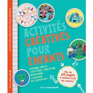 livre-Activités-créatives-enfants-éditions-Marie-Claire