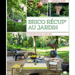 Livre Brico Récup au Jardin Editions Massin