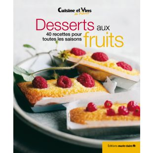 Livre Desserts aux fruits