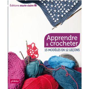 Livre apprendre à crocheter