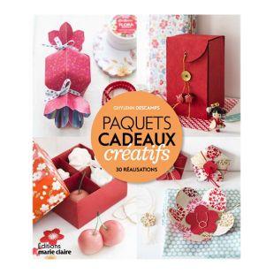 livre paquets cadeaux créatifs Éditions Marie Claire