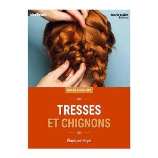 livre tresses et chignons editions marie claire