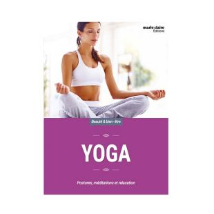 livre yoga editions marie claire