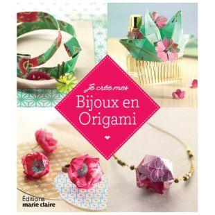 Livre création bijoux papier origami