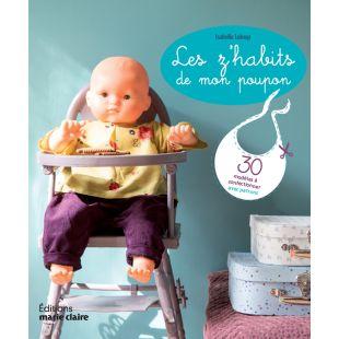 Livre Les z'habits de mon poupon editions marie claire