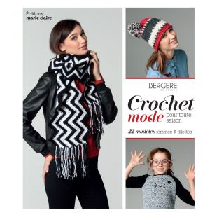 livre crochet mode pour toute saison Éditions marie Claire