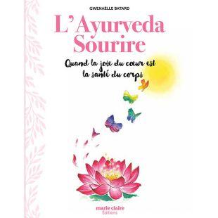 Livre l'Ayurveda Sourire des Éditions Marie Claire