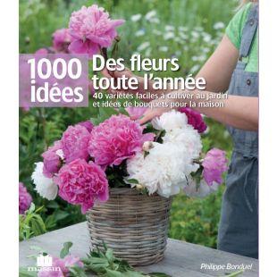 Livre fleurs jardin