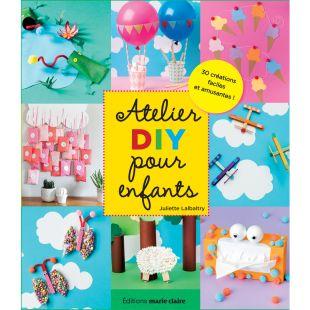 livre atelier DIY pour enfant Éditions Marie Claire
