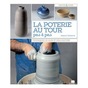 livre la poterie au tour pas à pas