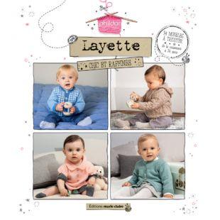 Livre tricot layette Éditions Marie Claire