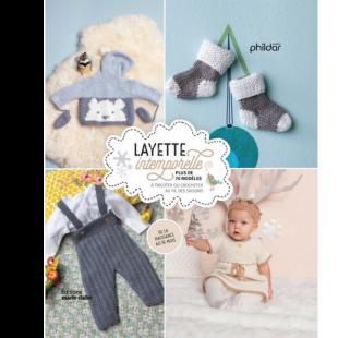 Livre tricot Layette intemporelle Editions marie claire