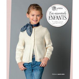 livre tricot es essentiels enfants Éditions marie Claire