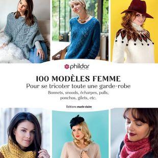 livre 100 modèles de tricot femme editions marie claire