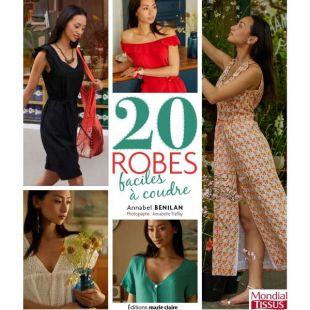 Livre de couture 20 robes des Editions marie claire