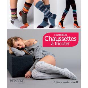 livre chaussettes à tricoter