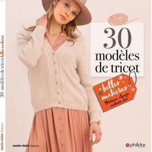 Livre 30 Modèles Tricots
