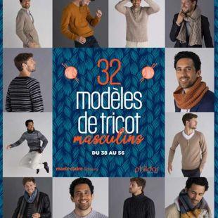 livre 32 modeles de tricot editions marie claire