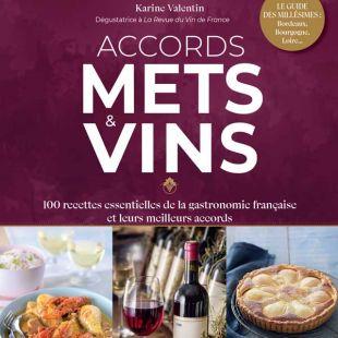 livre accords mets et vins gastronomie française la revue du vin de France Editions Massin