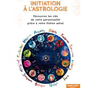 Livre initiation à l'astrologie editions marie claire