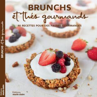 livre brunchs et thés gourmands editions marie claire
