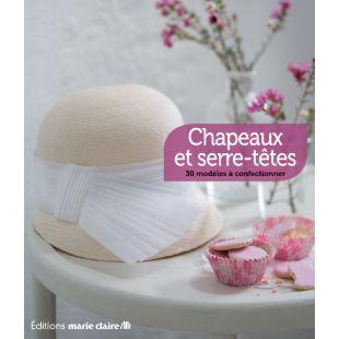 Livre chapeau serre têtes Éditions Marie Claire