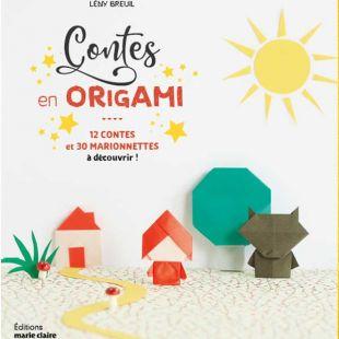 Livre editions marie claire Contes en origami