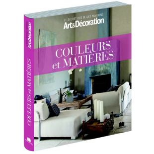 livre couleurs et matières décoration edtions marie claire