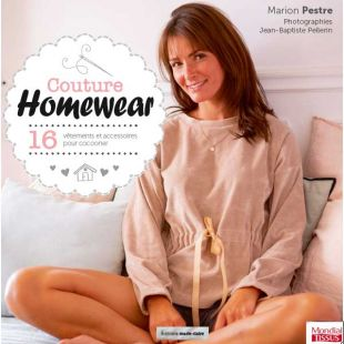 Livre couture homewear editions marie claire