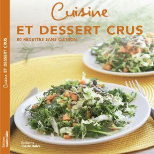 livre Cuisine et desserts crus