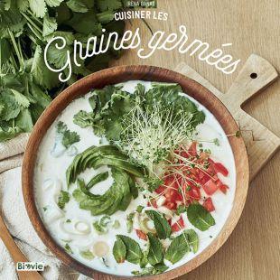Livre cuisiner les graines germées editions marie claire