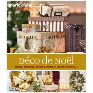 livre décor de noël Éditions Marie Claire