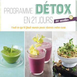 Livre de recettes de cuisine detox